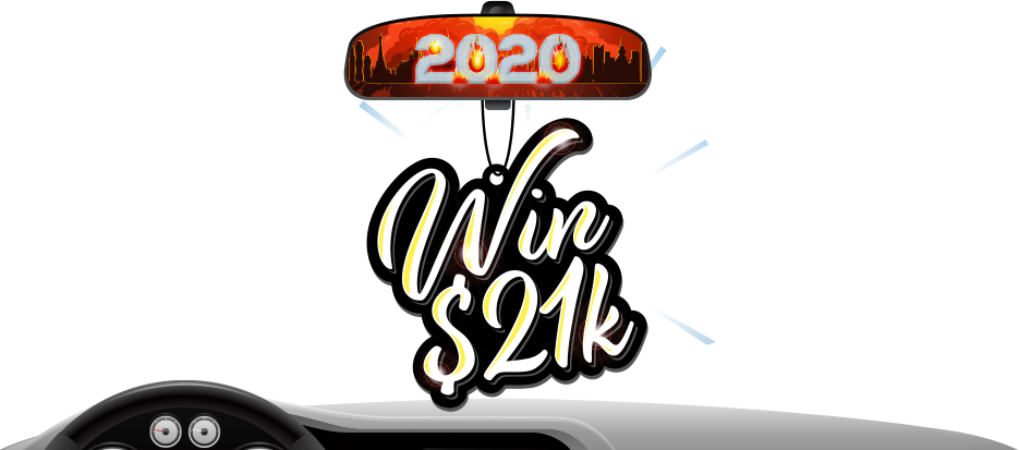 Put 2020 in your rearview mirror