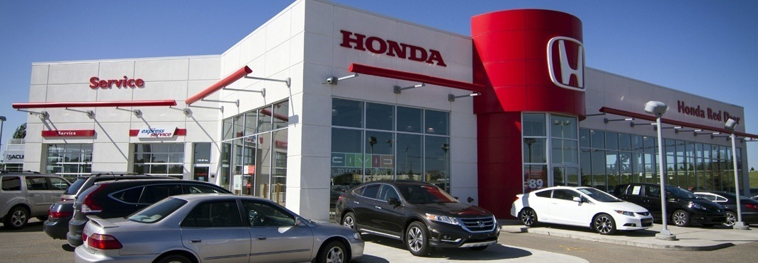 Honda Red Deer